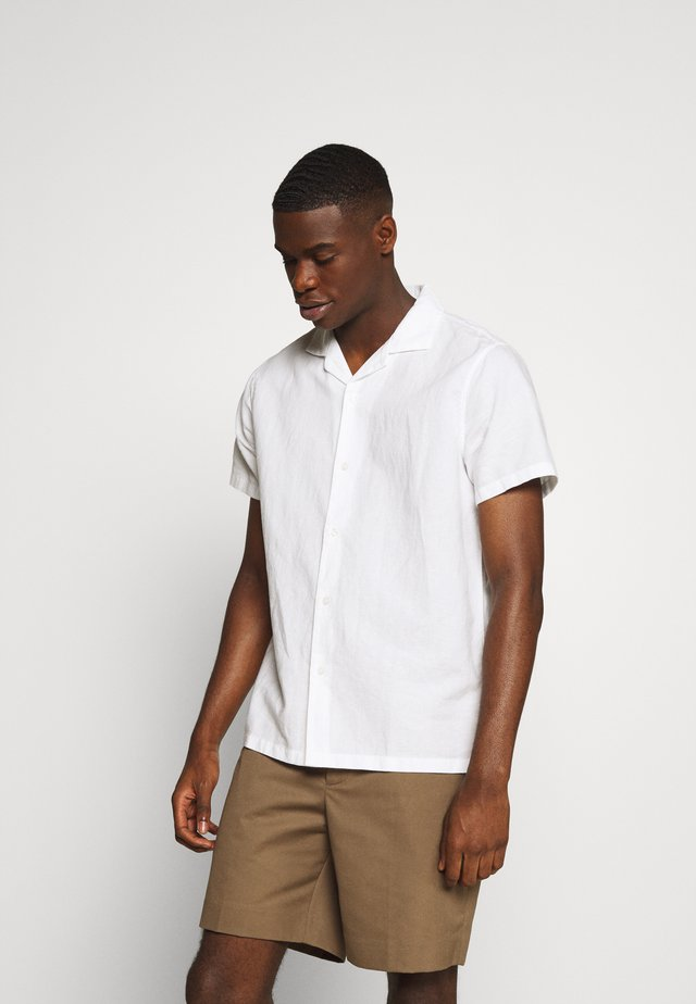 SHORT SLEEVE - Shirt - solid white