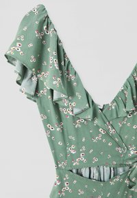 PULL&BEAR - CUT-OUT-DETAIL - Jumpsuit - green - 4