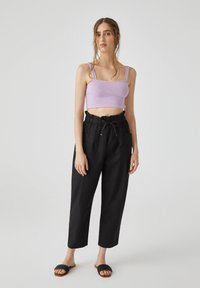 PULL&BEAR - Trousers - black - 4
