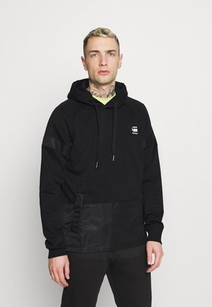 PRISONER MIX HDD SW L\S - Sweatshirt - dark black