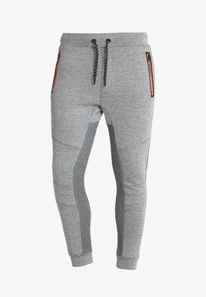 GYM TECH STREET - Tracksuit bottoms - grey grit/urban grey heather