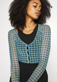 Weekday - NICOLE - Cardigan - blue/green - 3