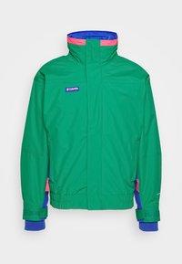 Columbia - BUGABOO 1986 INTERCHANGE 2 IN 1 JACKET - Outdoor jacket - emerald green/lapis/bright geranium - 4