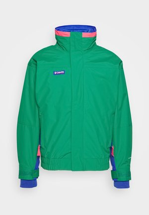 BUGABOO 1986 INTERCHANGE 2 IN 1 JACKET - Outdoor jacket - emerald green/lapis/bright geranium