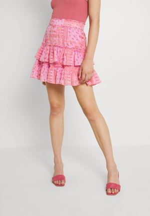 MELISSA MINI SKIRT - Mini skirt - true pink