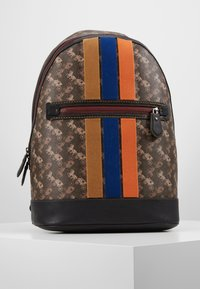 Coach - BARROW BACKPACK IN HORSE AND CARRIAGE  - Reppu - black/brown - 0