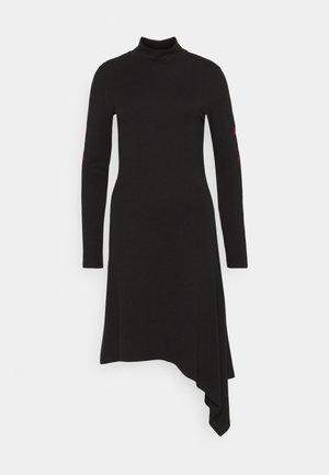 MARISSA - Jersey dress - black