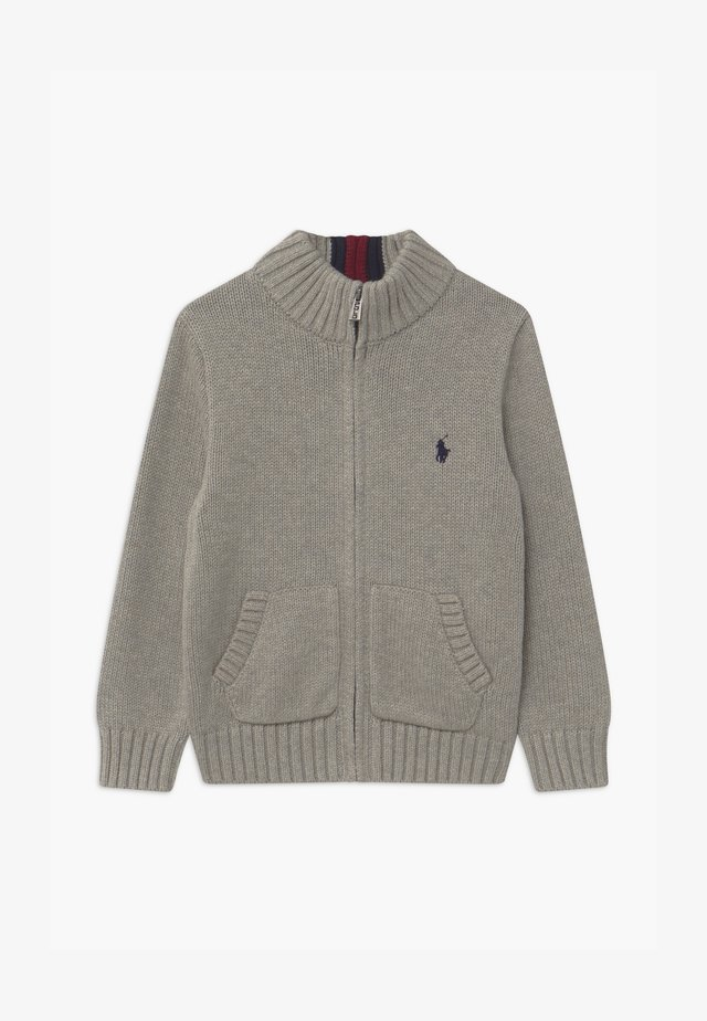 MOCK - Cardigan - grey