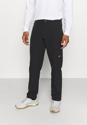 QUEST PANT - Pantalones montañeros largos - black