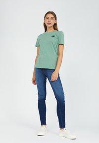 ARMEDANGELS - LIDAA ELEMENTS - Print T-shirt - matcha - 1