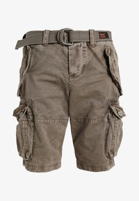 Superdry - CORE CARGO HEAVY - Shorts - dust cloud - 5