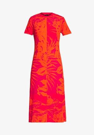 PARADISE - Day dress - rojo roja