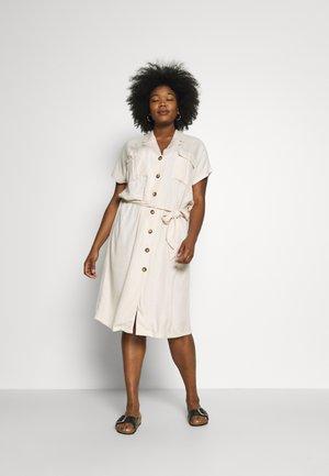 KCIDORA DRESS - Day dress - tapioca