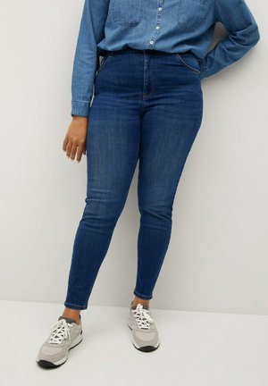 LORENA - Jeans Skinny Fit - donkerblauw
