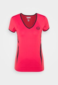 sergio tacchini - EVA  - Sports shirt - rougered/navy - 4