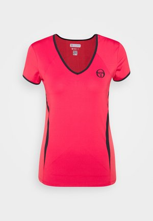 EVA  - Sports shirt - rougered/navy