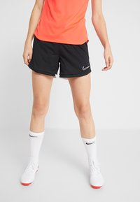 Nike Performance - DRI FIT ACADEMY - Sports shorts - black/white - 0