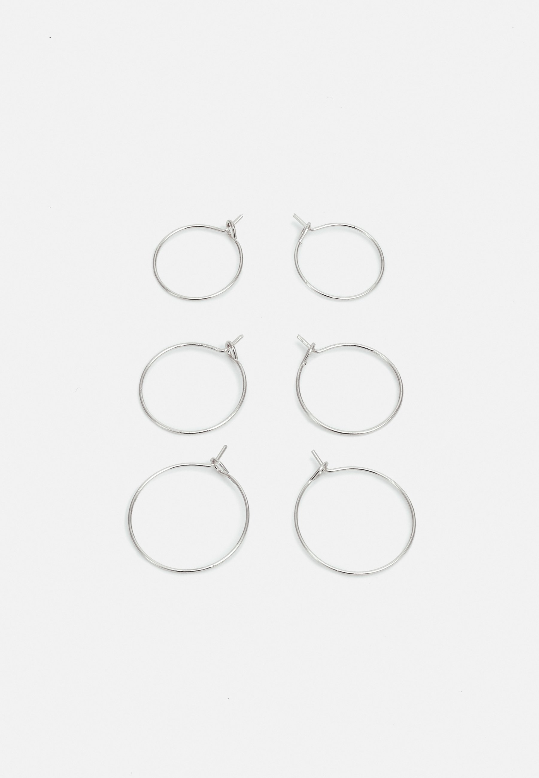 Donna BASIC HOOP 3 PACK - Orecchini