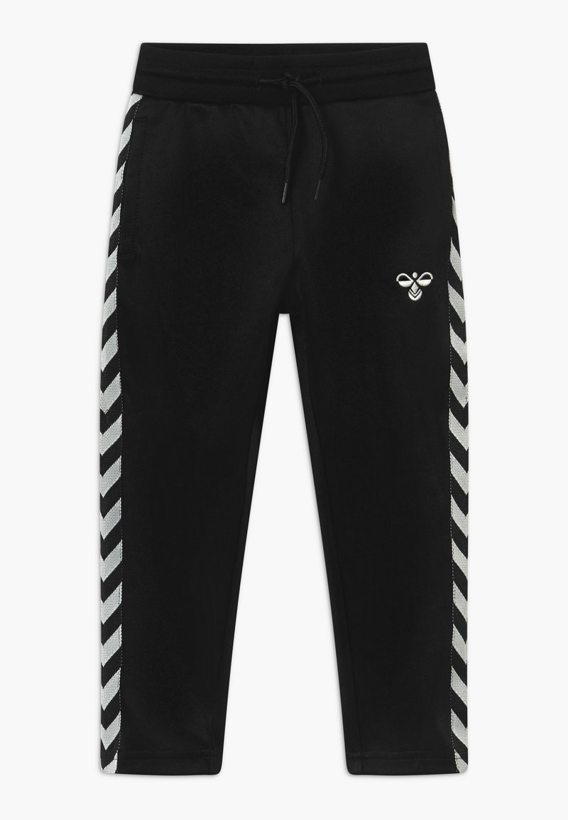 Hummel - KICK - Tracksuit bottoms - black