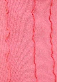 Bershka - A-line skirt - pink - 5