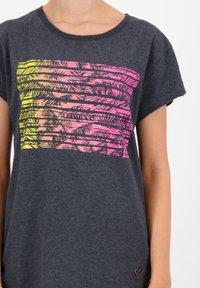 alife & kickin - MAXINEAK - Print T-shirt - marine - 4
