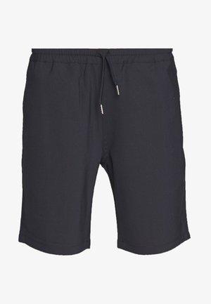AVEC CORDON - Shorts - marine