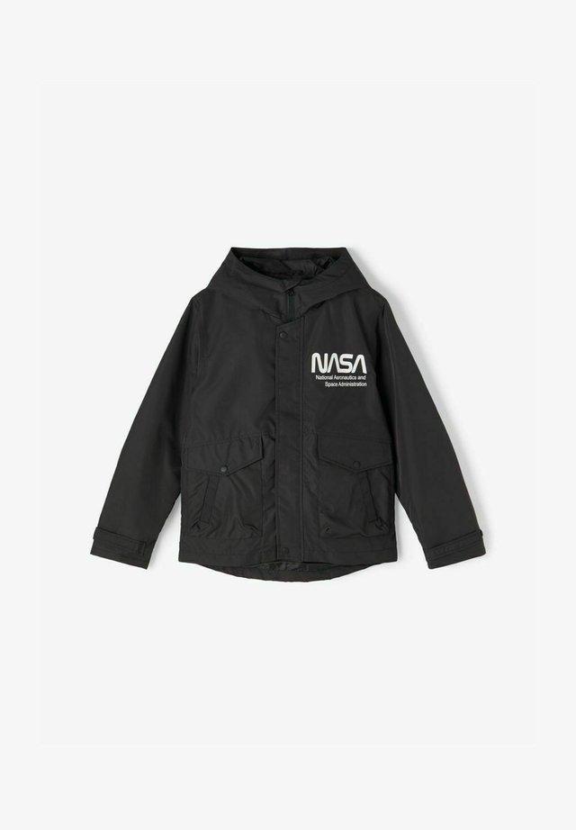 NASA - Välikausitakki - black