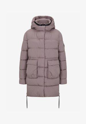 Down coat - dark beige
