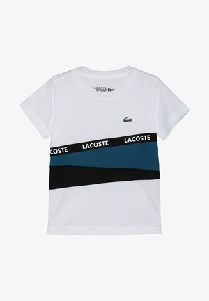 TENNIS  - Print T-shirt - white/illumination black
