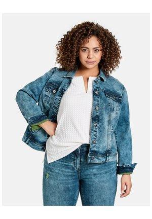 JEANS + GEWEBE JEANSJACKE - Denim jacket - blue denim