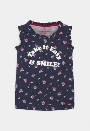 SMALL GIRLS SINGLET - Top - dress blues