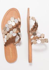 Les Tropéziennes par M Belarbi - HOROND - T-bar sandals - or - 1