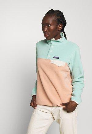 SYNCH SNAP - Fleece jumper - scotch pink