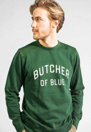 Sweater - jet green
