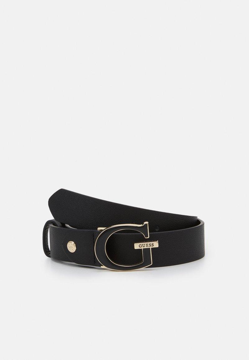 Guess - DALMA ADJUST PANT BELT - Belt - black