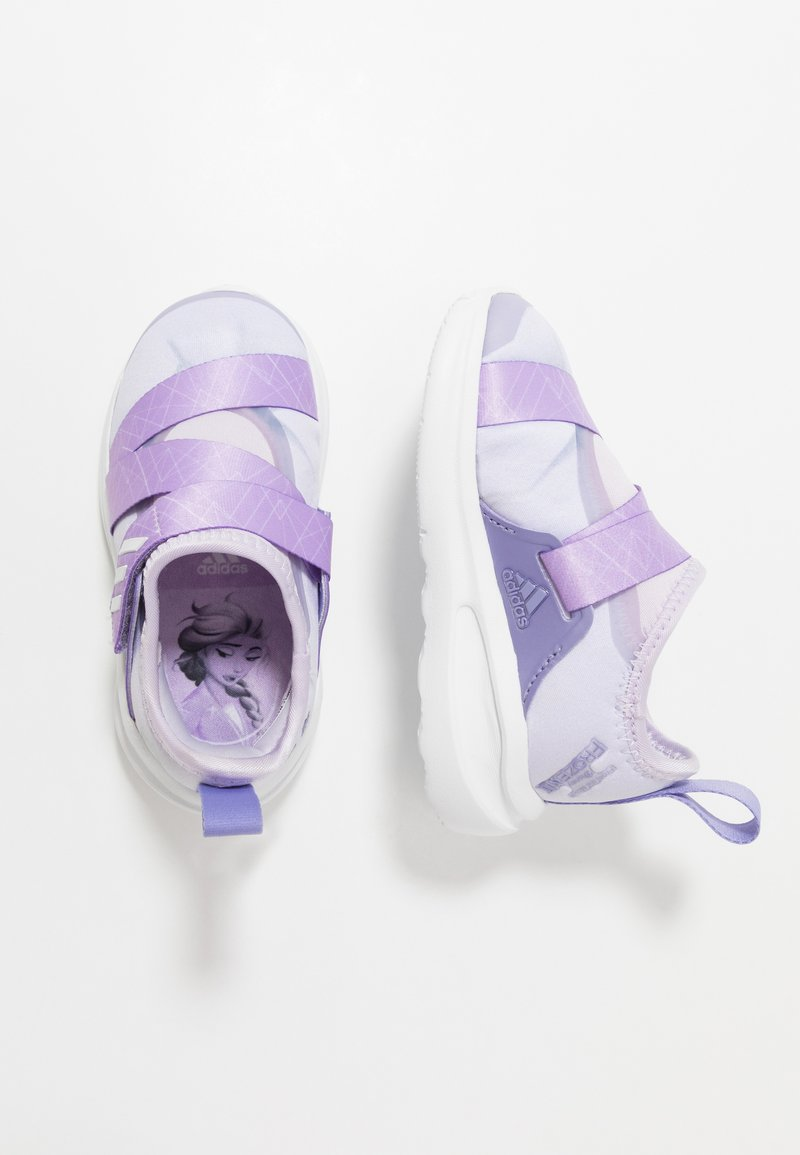 adidas Performance - FORTARUN X FROZEN  - Neutrale løbesko - purple tint/light purple/footwear white