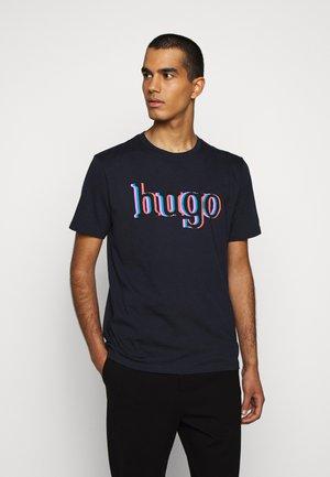 DONTROL - Print T-shirt - dark blue