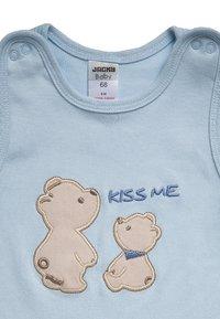 Jacky Baby - SET - Pijama de bebé - hellblau/weiß - 3