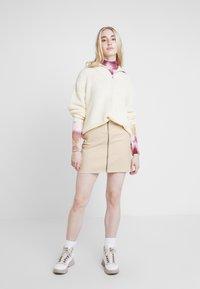 Roxy - MAJOR CHANGE - A-line skirt - ivory cream - 1