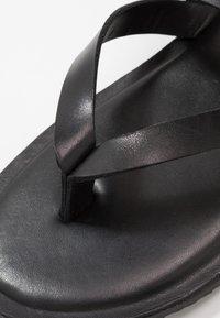 Zign - UNISEX - T-bar sandals - black - 5