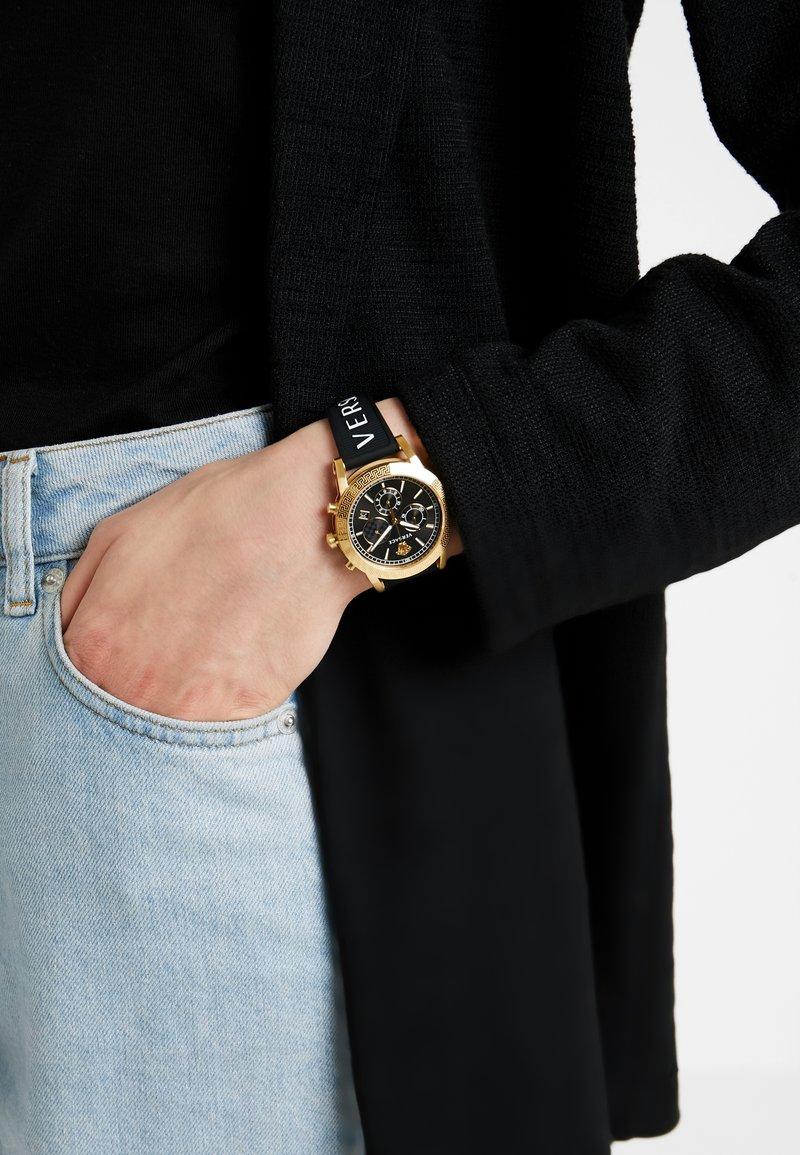 Versace Watches - SPORT TECH - Chronograph watch - black