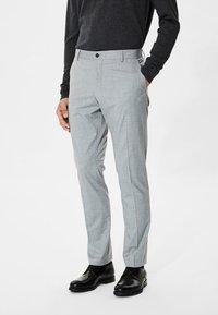 Selected Homme - Puvunhousut - light grey melange - 0