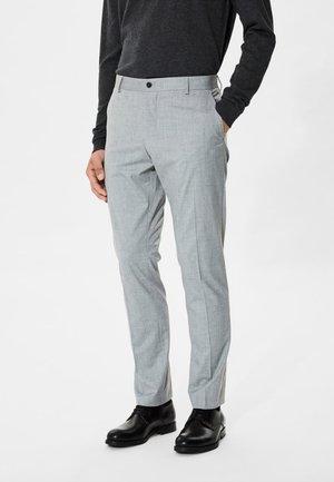 Pantalon - light grey melange