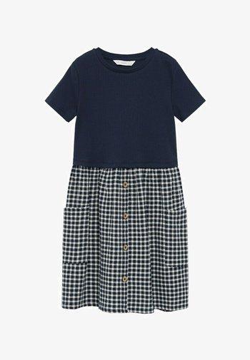 Denní šaty - bleu marine foncé