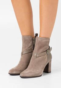 Tamaris - BOOTS - Classic ankle boots - taupe - 0