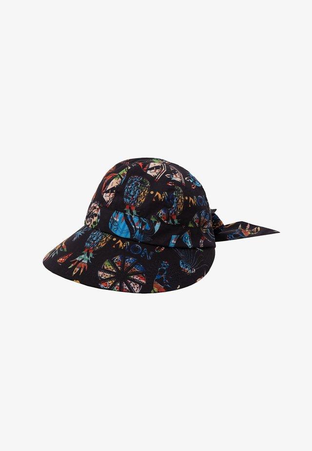HAT TROPICUBAN PRINT - Hatt - black
