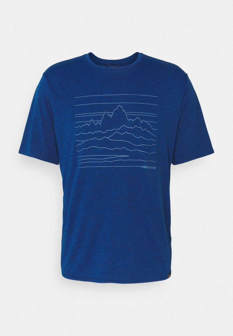 Patagonia - CAP COOL DAILY GRAPHIC - Print T-shirt - superior blue