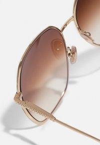 Victoria Beckham - Sunglasses - gold-coloured/brown - 3