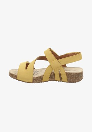 TONGA - Sandals - safran