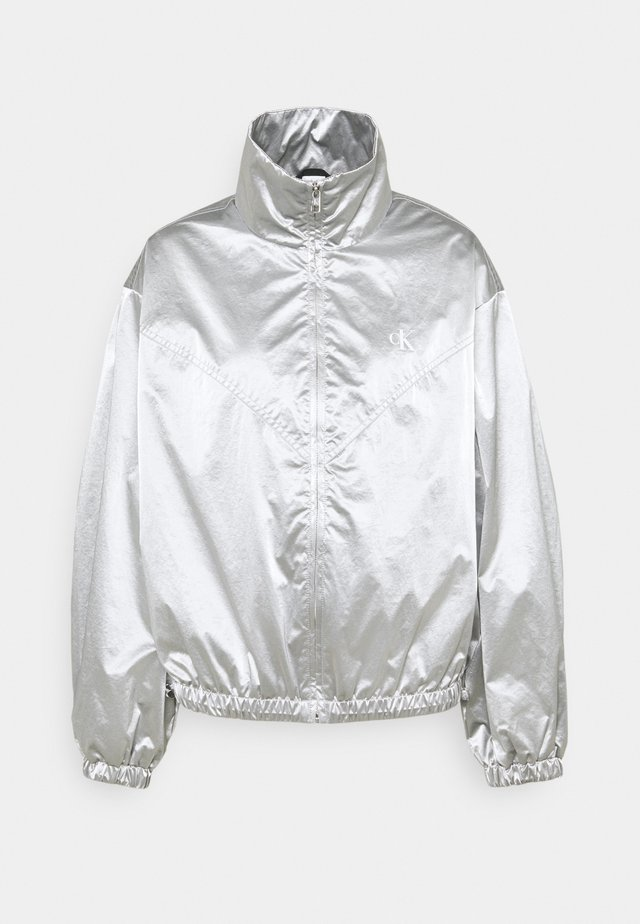 ZIP THROUGH - Windbreaker - silver